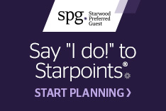 "Say ""I Do!"" to Starpoints."
